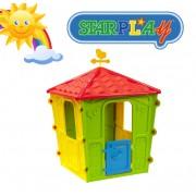 Casetta/Casa da giochi per bimbi da interno e esterno e giardino in termoplastica StarPlay - Country Play House
