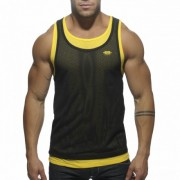ES Collection SuperPosed Low Rider Tank Top T Shirt Black TS123