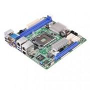Дънна платка за сървър ASRock Rack E3C226D2I, LGA1150, DDR3 ECC/non-ECC UDIMM, 2x LAN1000, 6x SATA 6Gb/s, RAID 0, 1, 5, 10, 2x USB 3.0, 2x USB 2.0, Mini ITX