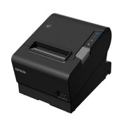 Epson Tm-t88vi-243 Parallel + Built-in Ethernet & Built-in Usb With Psu, No Data Or Power Cables Black