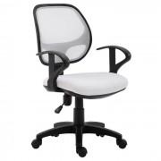 IDIMEX Chaise de bureau pour enfant COOL, blanc