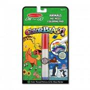 Melissa & Doug Kreatív játék, Színrobbanás színező füzet, állatok