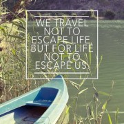 we travel not to sticker poster|travelling quotes|for travellers|size:12x18 inch|multicolor