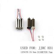 Generic 4pcs h31 motor : 4pcs Motors For Jjrc H31 Watreproof Drone Spare Parts 2pcs Cw 2 Pcs Ccw Motor Rc Quadrocopter Drons Engines Kits