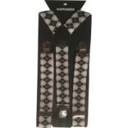 Mr. Zunk Y- Back Suspenders for Men(Grey)