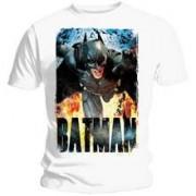 Tricou The Dark Knight Rises Running Flames Marime XL