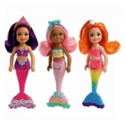 Mini Papusa Mattel Barbie Dreamtopia Sirena