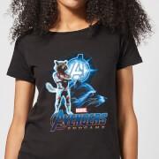 Avengers: Endgame Rocket Suit dames t-shirt - Zwart - L - Zwart