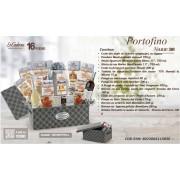 Cos de Craciun Portofino 16 piese made in Italy