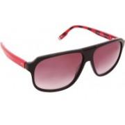 Tommy Hilfiger Rectangular Sunglasses(Red)