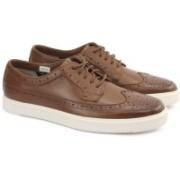 Clarks CALDERON LIMIT TAN LEATHER Sneakers For Men(Tan)