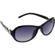Hrinkar Over-sized Sunglasses(Blue)