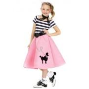 Fun World Soda Shop Sweetie Costume, Pink, Small 4-6