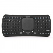 Bluetooth V3.0 Smart Teclado tactil / Air Mouse w / USB 2.0 - Negro