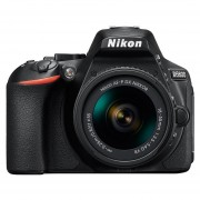 Camara Reflex Nikon D5600 Kit con Lente 18-55mm +16gb + Control+ Filtro Uv - Negro