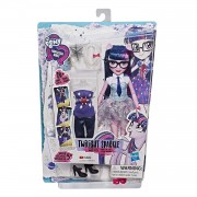 Papusa Hasbro Twilight Sparkle cu 2 Tinute, Colectia Equestria Girls So Many Styles