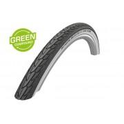 Cauciuc Road Cruiser 28x1.25 700x32 TwinSkin Whitewall negru/alb (32-622)