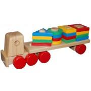 Little Genius Pulling Shape Sorting Truck, Multi Color
