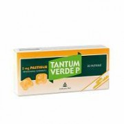 Angelini Spa Tantum Verde P 3 Mg Pastiglie Gusto Arancia-Miele 20 Pastiglie
