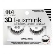 Ardell 3D Faux Mink 858 vícevrstvé umělé řasy 1 ks odstín Black pro ženy