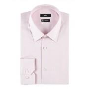 HUGO BOSS Enzo regular fit overhemd met micro jacquarddessin