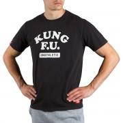 Scramble Kung F.U. T-Shirt-svart L