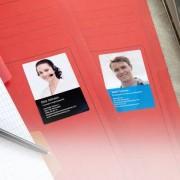 smartphoto Visitenkartenaufkleber Hochformat