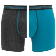 Boxershorts Match Boxers 2-pack Print & Blauw