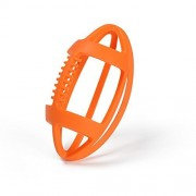 Bebamour Silicone Baby Teether BPA Free Sensory Teething Toy Football Easy to Hold Rugby Teether