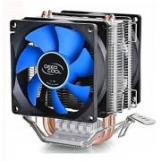 DeepCool 12cm Fan CPU Cooler Heatsink quiet for Intel LGA775/1156/1155 AMD FM2/AM2 2+/AM3