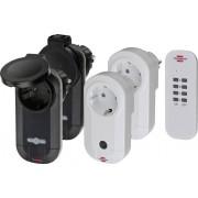 Set prize wireless pentru interior si exterior 1000 W, 4 buc., Brennenstuhl