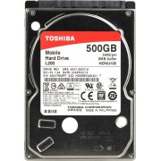 TOSHIBA L200 Int. Disk 500GB 2,55400Rpm8MBSATA39,5mm