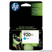 HP 920 Cyan Officejet Ink Cartridge (CD972AE)