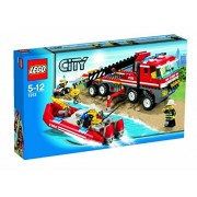 Lego 7213 Off-road Fire Truck & Fireboat