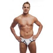 Go Softwear California Colors Piping Boy Brief Underwear White/Black 2021