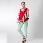 Multifuncion Transpirable Bebe Recien Nacido Portador Sling - Rojo