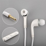 Earphone Handsfree with mic white compatible for samsung vivo oppo and other mobiles
