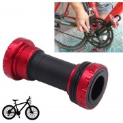 Bicicleta Bb91 Pedalier Shimano Encaja 68-73mm Para Bicicleta De Montaña (rojo)