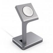 Satechi Aluminum Watch Stand (Apple Watch) - Grå