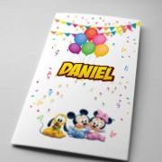 Invitaţii de botez cu Mickey Mouse