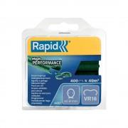 Capse gard Rapid HOG VR16 2 8mm plastifiate verzi 400 buc blister