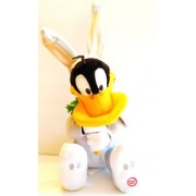 Hallmark 2009 Whats Up Duck? Haares Daffy Looney Tunes Easter Techno Plush