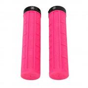 【セール実施中】【送料無料】SUPACAZ(スパカズ)GRIZIPS グリズプス 自転車グリップ サイクルドレスパーツ Neon Pink