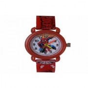VITREND(R-TM)New Model Spiderman Cartoon Style Design Analog Round Dial Model for Boys Girls(Sent as Available Colours)