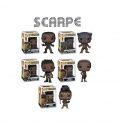 Funko 5 Pop Set Black Panther Erik Killmonger Shuri Nakia Marvel