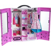 Barbie Barbie Fashionista Closet Fashionistas Ultimate Closet (Magenta) [Parallel import goods]