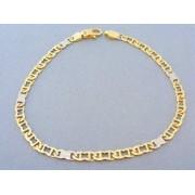 Zlatý náramok žlté biele zlato DN235989V