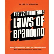 The 22 Immutable Laws of Branding: How to Build a Product or Service Into a World-Class Brand, Paperback