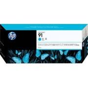 HP Tinteiro (C9483A) Nº91 Azul Pack 3
