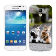 Husa Samsung Galaxy S4 Mini i9190 i9195 Silicon Gel Tpu Model Kitties